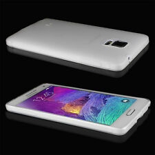 Samsung Galaxy Note 4 N9100 Case Matte Back Flexible TPU Protective Case Cover