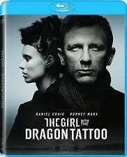 The Girl with the Dragon Tattoo (Blu-ray) NEW Factory Sealed, Free Shipping