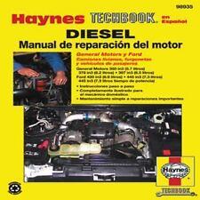 Diesel Manual de Reparaci=n del Motor (Haynes Techbook en Espanol) (Spanish Edit