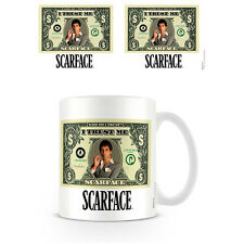 Tazza Scarface Tony Montana Dollar Bill in Ceramica Coffee Mug
