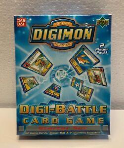 Digimon Digital Monsters Digi battle Card Game Starter Set 2 Player Pack NEW