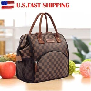 Insulated Lunch Bag Large Capacity Lunch Box Men&women Portable Food Storage Bag