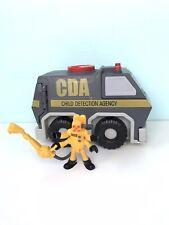 Imaginext Monsters Inc University CDA Van Plus Figure