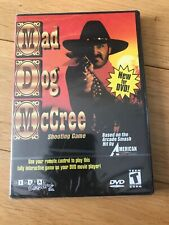 MAD DOG MCCREE DVD  ARCADE SHOOTING GAME BRAND NEW SEALED