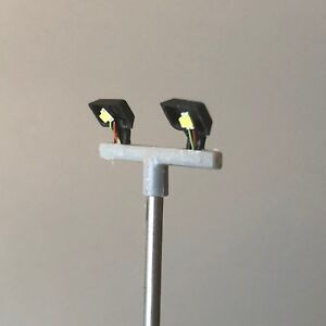 UK Model Floodlights Lamp Post for Yards and Depots OO HO for Hornby ModelSigns