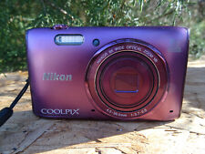 Nikon COOLPIX S5300 16.0MP Digital Camera - Plum FOR PARTS REPAIR AS IS