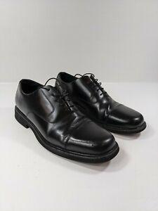 Rockport Mens Black Leather Oxford Comfort Dress Shoes Sz 12M.  M1708