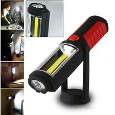 LED COB Inspection Lamp Work Light Flexible Battery Operated Hand Torch Magnetic
