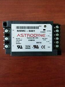 NEW ASTRODYNE Power  Supply MSMC-5001, 100/240V 50/60Hz  .15A