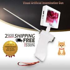 Visual Artificial Dog Insemination Gun Kit 5MP Camera 360° Adjustable Screen dt5