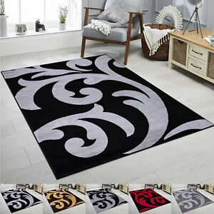 Large Area Carpets Soft & Warm Feel Under Feet Floral Rugs Non Slip Quality Mats