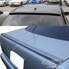 Unpainted Mercedes Benz W210 4D Sedan E320 E350 Rear Roof + Trunk Spoiler COMBO