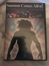 Samson Comes Alive An Evening With Apologetix Live NEW Christian Rock..RARE..