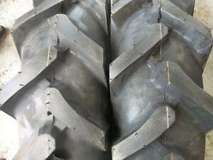 ONE 750x16, 750-16 Terramite Backhoe DEERE KUBOTA 8 ply R1 Bar Lug Tractor Tire