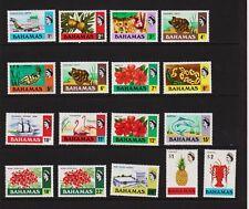 Bahamas - #313-329 Mint, NH, cat. $ 27.95