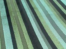 Harlequin Upholstery Fabric VERMONT NAPA 0.65cm Stripe Cut Velvet Design 65cm