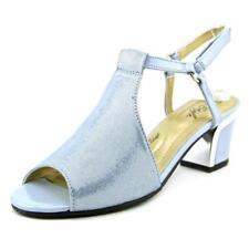 Sandalias y chanclas de mujer de tacón alto (más que 7,5 cm) de color principal azul Talla 39.5