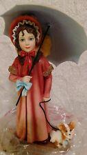 Jan Hagara 2006 Emma & Parasol Club Figurine signed new in box