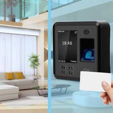 2.4in LCD Fingerprint Time Clock Office Attendence Machine Recoder 125KHZ Card
