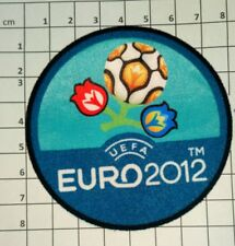 Euro 2012 Patch badge  UEFA  maillots foot France Italie Allemagne Angleterre