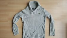 Lyle & Scott Vintage Sweater 91% lambswool Cardigan Men's Pullover Jumper Size L