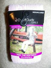 Cuddl Duds Girl's Sweater Tights Size Medium/Large Pink