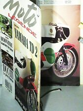 MOTO LEGENDE : YAMAHA TD2/ DUCATI CAFE RACER/ DERONZIERE 1912/ GALLETO/VELOCETTE