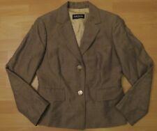 BETTY BARCLAY Blazer w.NEU! 139€ 38/M Jacke sand +LEINEN Jacke Leinenblazer