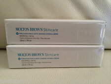 Molton Brown 2 x 50ml Peruvian Maca Anti-Ageing Hydra-Creme Cream BRAND NEW