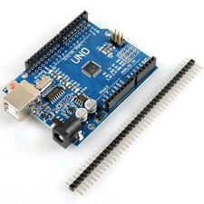 Board ATmega328P UNO R3 CH340G SCM Blue for Arduino Module OT8G
