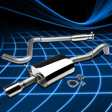 "4""Rolled Muffler Tip Stainless Steel Catback Exhaust For 08-10 Cobalt SS 2.0T"