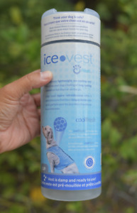 Go Fresh Pet Ice Cooling Vest Size: S/P  Shi Tzu Maltese  length: 9 in