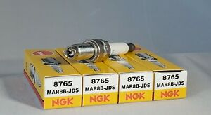 4-NGK SPARK PLUGS MAR8B-JDS / 8765 FOR BMW MOTORCYCLES! FAST FREE SHIPPING!!!