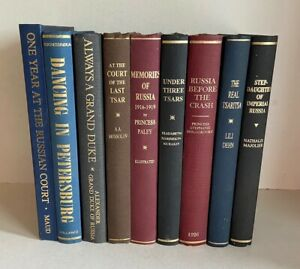 9 VOLUMES, RUSSIAN HISTORY, ALL SCARCE LIMITED EDITIONS