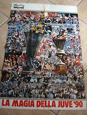I Maxi Affiches Doc de Vive Boy ´Juventus le Magie la Juventus ´90 1990