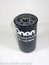 Replacement Oil Filter 122-0836 Fits All HGJ Series Onan OEM RV Generator