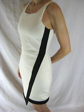 GORGEOUS SZ 8 10 NICHOLAS BLACK AND WHITE DRESS DESIGNER