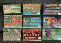 Winning lottery tickets- Each ticket is a guaranteed winner. 100% Real, no scam