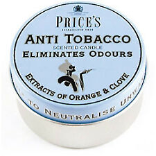 Prices Wax Scented Candle Eliminates Tobacco Odours Tin PK 3 Triple