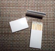 50 Stück Streichholzschachteln blanko mit Inhalt