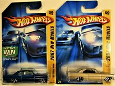 HOT WHEELS 1966 CHEVROLET CHEVY NOVA FIRST EDITIONS VARIATIONS NEW IN PACKAGES