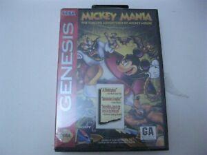 Mickey Mania new sealed Sega Genesis 1994