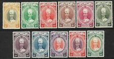 KELANTAN - 1937 - DEFINITIVES SHORT SET OF 11 TO 40c - SG 40/50 - MM - CAT £180