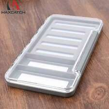 Maxcatch New Fly Box Clear Lid Slit  Foam Fly Fishing Tackle Box