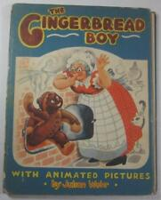 THE GINGERBREAD BOY WITH ANIMATED PICTURES JULIAN WEHR E P DUTTON 1ST ED 1943