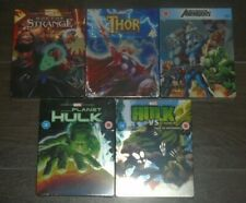 Avengers collection (5 Blu-rays) steelbook. NEW & SEALED. UK release. Animation.