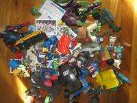 💥Toy Box Blowout💥 Random Box Lot Of Toys Marvel Baseball Cards Minecraft Cars