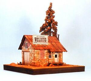 The Building & Structure Co. S Scale #S-100 ~ J. R. SIEDEL WELDING SHOP~NIB~T67