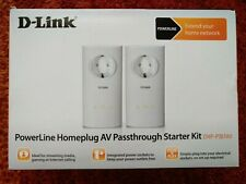 D-Link PowerLine Homeplug AV Passthrough Starter Kit DHP-P307AV