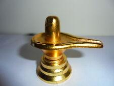 5cm Metal Shivling Statue Hindu God Shiva Lingam Idol Puja Religious Gift Diwali